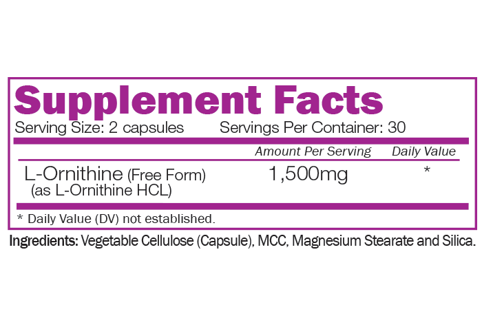 ORNITHINE - Free Form