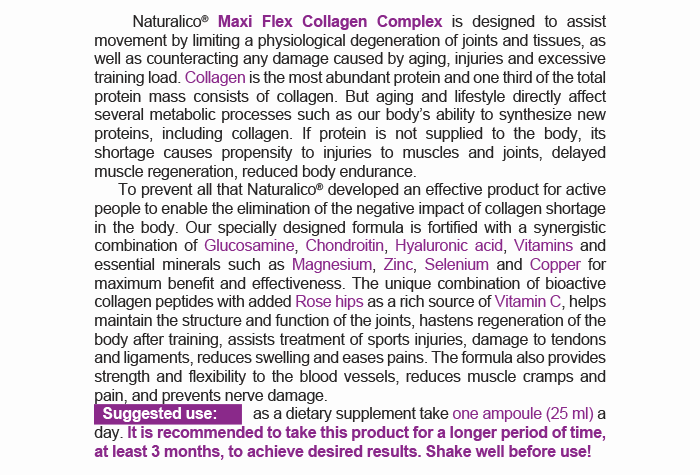 MAXIFLEX COLLAGEN COMPLEX