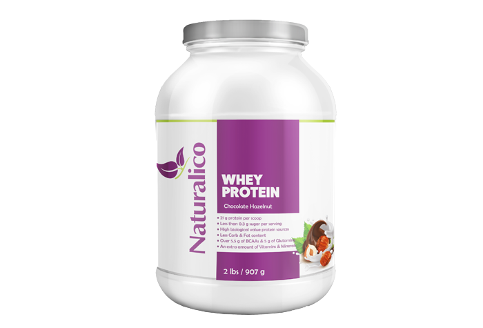 WHEY PROTEIN CHOCOLATE HAZELNUT 2 LBS