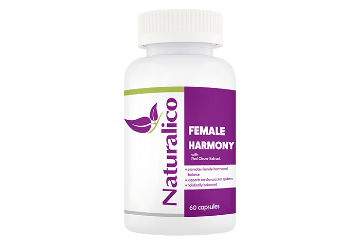 FEMALE HARMONY - with Red Clover Extract