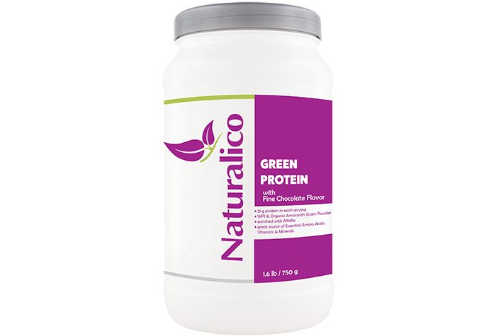 GREEN PROTEIN - with Fine Chocolate Flavor