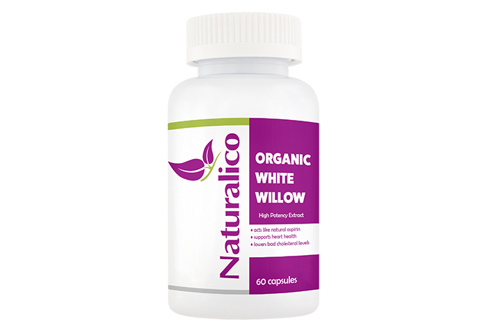 ORGANIC WHITE WILLOW - High Potency Extract