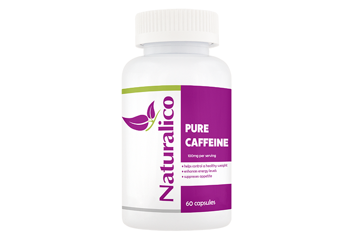 PURE CAFFEINE - 100mg Per Serving