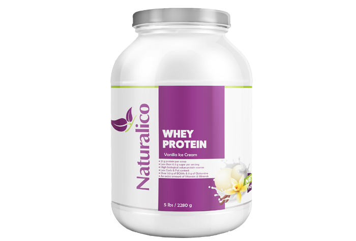 WHEY PROTEIN VANILLA ICE CREAM